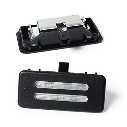 Do!LED A10S LED SMD make-up spiegel make-up spiegel verlichting plug & play koud wit - zwarte behuizing