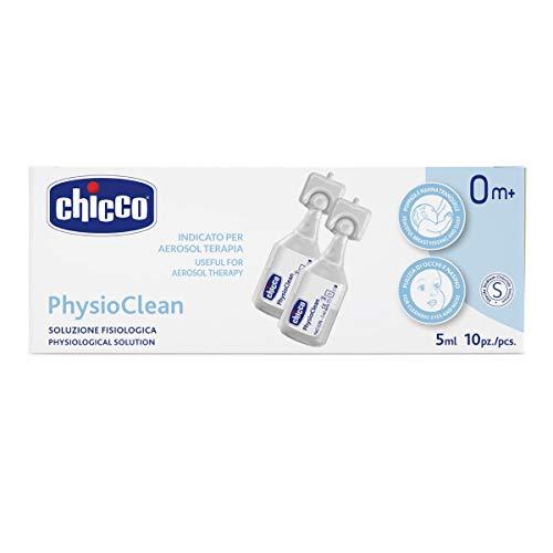 Chicco Soluzione Fisiologica PhysioClean, 5 ml, 10 Pezzi