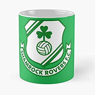 Shamrock Rovers Ireland Coffee Mugs Unique Ceramic Novelty Cup