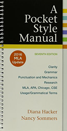 A Pocket Style Manual, 2016 MLA Update Edition 7e & LaunchPad Solo for Readers and Writers (Six Month Online)