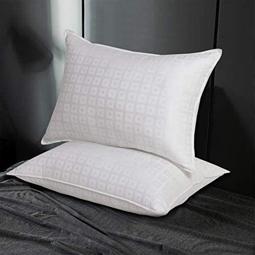 Acrafsman Goose Down Alternative Pillows Bed Pillows for Sleeping Hotel Collection 100 Breathable product image