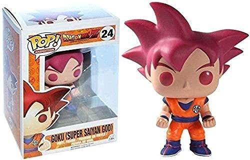 Dragon Ball Z # 24 Son Goku Super Saiyan God (Red Hair) Pop!