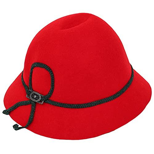 Isar-Trachten Hut für Kinder - Rot Gr. 53