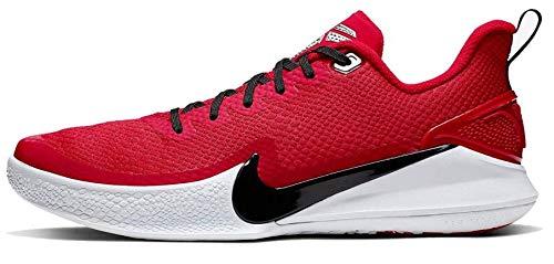 Nike Kobe Mamba Focus Basketball Shoe (Red, Numeric_5_Point_5)