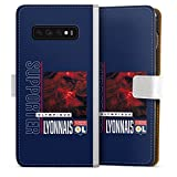 DeinDesign Étui Compatible avec Samsung Galaxy S10 Plus Étui Folio Étui magnétique Produit sous...