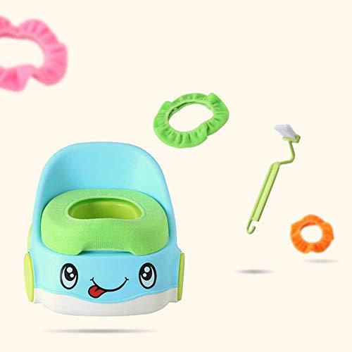 JYFLY Tragbare Nette Auto Toilettensitz Stuhl Töpfchen Baby Urinal Töpfchen Trainingsschutz für Jungen Mädchen Kinder Trainingshocker