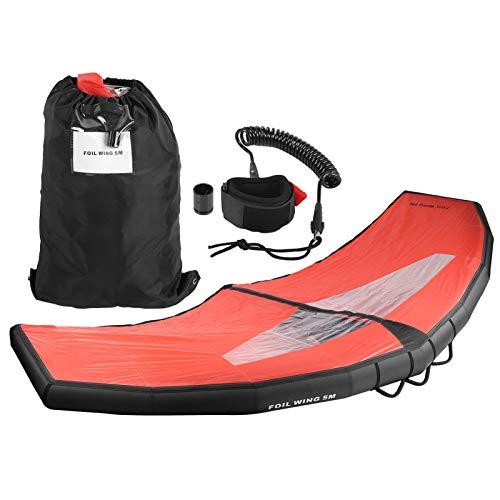 Dilwe Kayak Windsail Wind Paddle Tabla de Surf de Mano Inflable Ligera para Equipos de Surf para Deportes acuáticos(L)