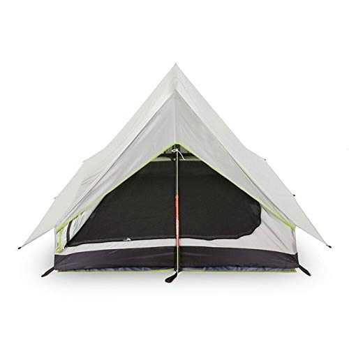 Mdsfe Outdoor Tent Pole Less Portable A-shaped Camping Tent Ultra Light   Tents Outdoor Camping Outdoor Equipment Camping Supplies-gray