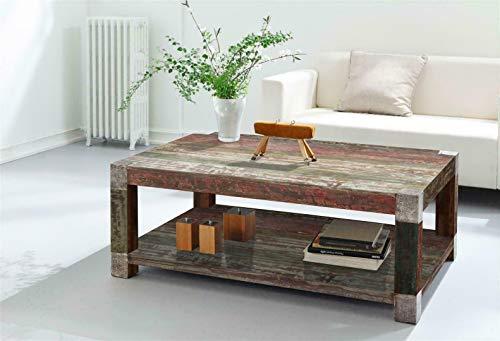 Wolf Möbel Stubentisch Goa 3512-HI Mango Massivholz 120x80 Couchtisch Holztisch