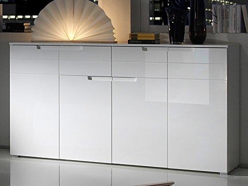 möbelando Sideboard Standschrank Anrichte Kommode Schrank Beistellkommode Suzette III