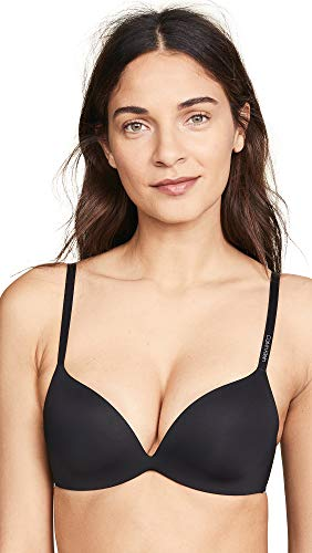 Calvin Klein Underwear Women's Form Push Up Bra, Black, 30D