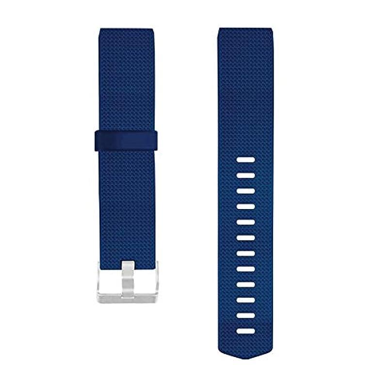 資金試験マッサージFitbitチャージ2用ソフトTPUストラップウォッチ交換用腕時計バンドブレスレットストラップ