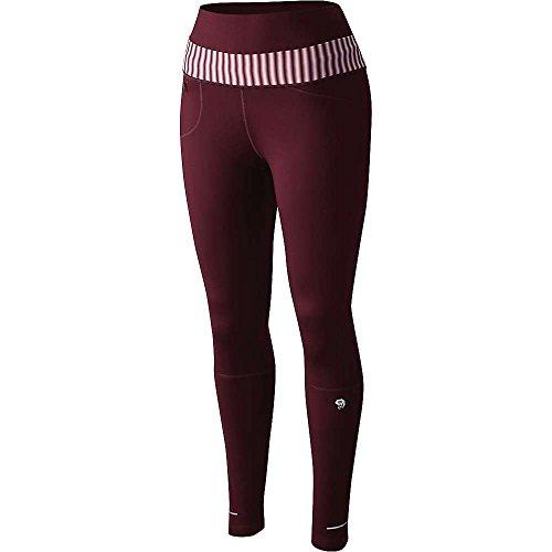 Mountain Hardwear OL0047537, Pantaloni aderenti da Uomo, Rosso, Large