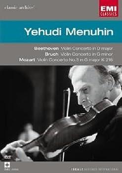 Beethoven Violin Concerto & Bruch Violin Concerto No 1 & Mozart Violin Concerto No 3 / Yehudi Menuhin