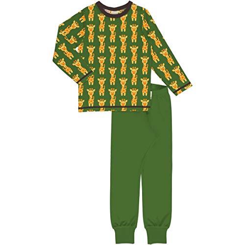 axomorra Langarm-Schlafanzug mit Giraffen 122/128