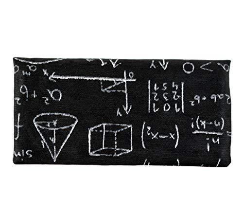 Plan B, Zigarettenetuis Tabak Rollen, Yolo Maths, 16 x 8,5 cm, 50g, mit Eva-Gummi Tasche, Schwarz