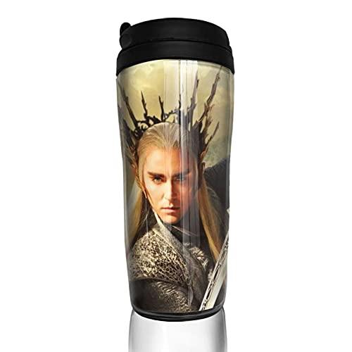 Hobbit Moive Taza de café reutilizable aislada taza de viaje para bebidas calientes frías y calientes té y cerveza