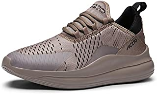 New Mesh Men Summer Solid Breathable Lace Up Comfort Trainers Shoes Light Weight