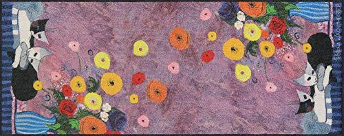 Salonloewe Rosina Wachtmeister Sleep Well Fußmatte waschbar 075 x 190 cm Fußabtreter, Schmutzfangmatte