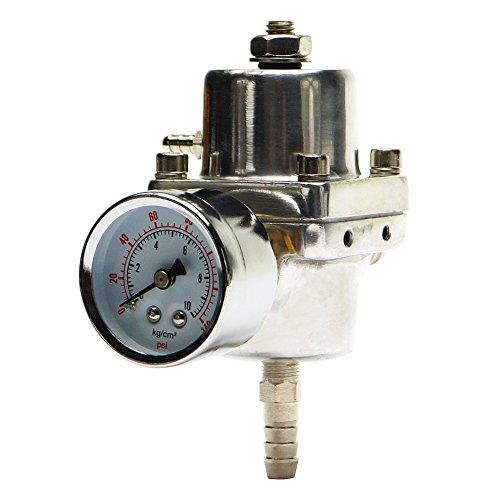 Diferentes niveles de gasolina regulador de presión con manómetro universal, New