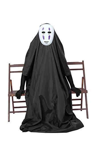 『カオナシフルセット マスク&ロング手袋付き コスチューム フリーサイズ』の2枚目の画像