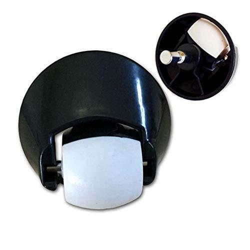 Industriële wielen Wielinrichting zwenkwiel for iRobot Roomba 500 600 700 800 Serie 560 650 770 780 870 880 stofzuiger onderdelen Nieuwste Plate Casters (Color : Black)