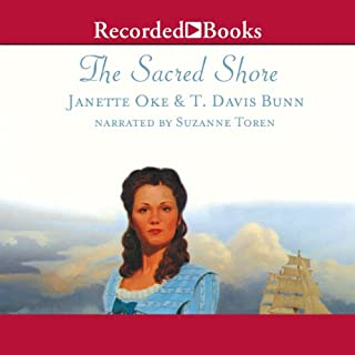 The Sacred Shore audiobook cover art