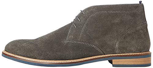 find. Camerton Herren Chukka Boots, Grau (Charcoal), 42 EU
