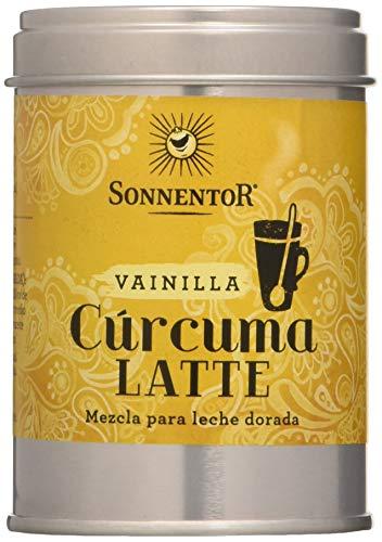 Cúrcuma Latte con Vainilla bio lata Sonnetor, 60 g