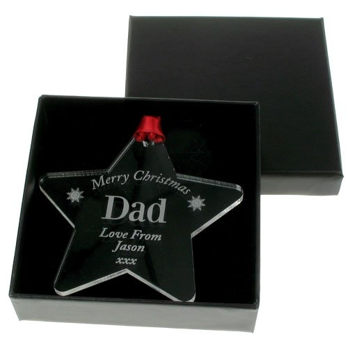 Special christmas bauble: Dad, Daddy, Personalised for dad, daddy, Unique christmas keepsake gift for dad, daddy
