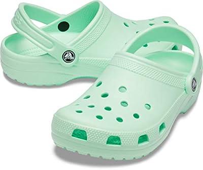 Crocs Classic Clog | Comfortable Slip on Casual Water Shoe, Neo MINT, 7 US Women / 5 US Men M US