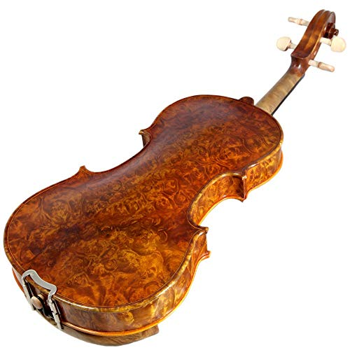 Sky 4/4 Full Size NY100 Bird's Eye Vintage Violin Guarantee Grand Mastero Sound Professional Hand-Made Hand-Crafted...