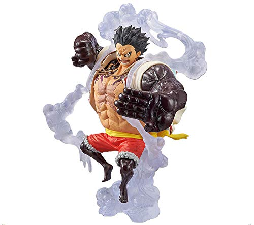 cheaaff Art King KOA One Piece Chopper Figura de acción Monkey D Luffy Gear 4 Snake Man Luffy Fight Form Bounce Figura de Serpiente T30-B