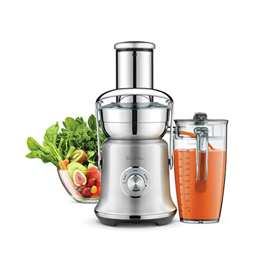 Breville BJE830BSS Juice Founatin Cold XL Centrifugal Juicer, Brushed Stainless Steel (Renewed)