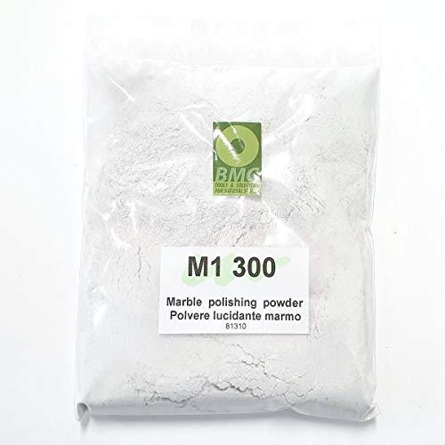POLVO DE PULIDO M1-300 para rehacer el pulido de encimeras de cocina, pisos de mármol y travertino