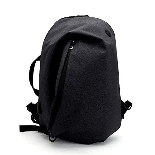 ARCTIC HUNTER バッグ メンズ ショルダーバッグ 3way 防水 大容量 USBポート付き チェストパック スポーツレ ジャー バックパック 通勤 黒