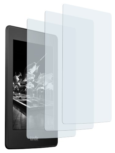 3 x mumbi Displayschutzfolie Amazon Kindle Paperwhite Schutzfolie