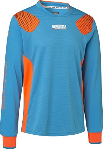 Derbystar Aponi Pro Torwarttrikot, XXXL, petrol orange, 6615080670