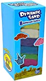 Dynamic Play Sand Art [8 Pack] Arts and Crafts for Kids Colored Sand Magic Sand Multi Color Combo Kit Play Sand | Stress Relief Toys for Kids and Adults | Party Favors