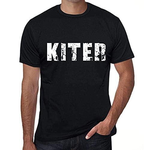One in the City Kiter Hombre Camiseta Negro Regalo de Cumpleaños 00553