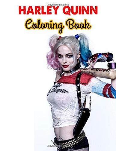 41NlLPgglwL Harley Quinn Coloring Books