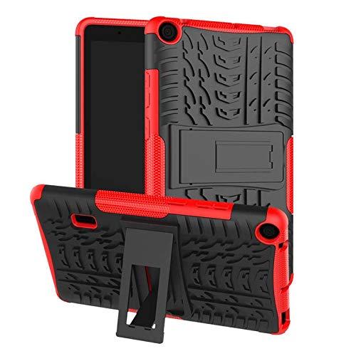RZL Pad y Tab Fundas para Huawei MediaPad T3 7 '' WiFi BG2-W09, Silicon Transporte de Alta duración a Prueba de Golpes para Huawei Mediéspad T3 7 Pulgadas (Color : Red)