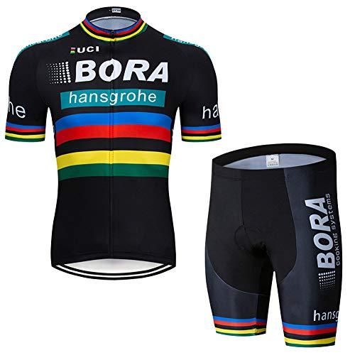 Juego de ropa de ciclismo para hombre de Reino Unido, color blanco, de verano, para bicicleta, 123, 123, color color, tamaño large