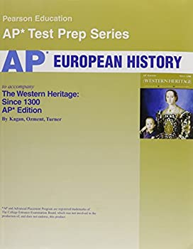 Paperback Western Heritage: Ap Exam Text With Test Workbook Book