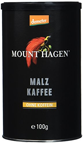 Mount Hagen Malzkaffee demeter, 4er Pack (4 x 100 g)