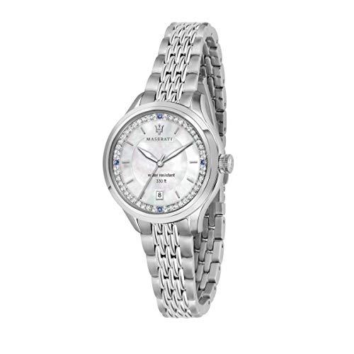 Orologio da donna, Collezione TRAGUARDO, in Acciaio, Cristalli - R8853112512