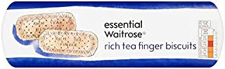 Rich Tea Finger Biscuits essential Waitrose 250g (Pack of 6)