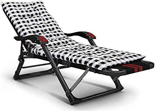 HJQFDC Lounge Chair Garden Liegestühle Gartenmöbelstühle im Garten Faltende Liegestühle mit Null-Gravity wasserdichte Metall-Liegestühle für Outdoor-Büro, L108 MEI