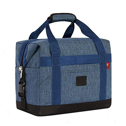 GYZ Déjeuner Cooler Sac de Grande Taille imperméable Isolation Lunch Bag Tissu Oxford Matière extérieure Sac de Pique-Nique, 2 Couleurs Peuvent Choisir Sac à Lunch (Color : A)
