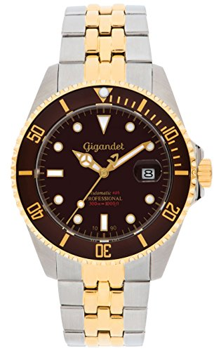 Gigandet G2–017–Orologio da uomo, cinturino in acciaio inox